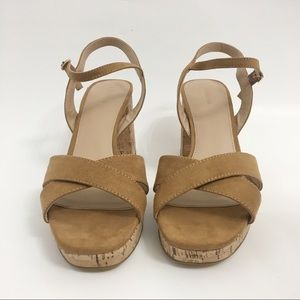 attention Shoes - Attention 'wallis' block chunky heel sandals A0097